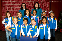 Girl Scout Investiture Ceremony