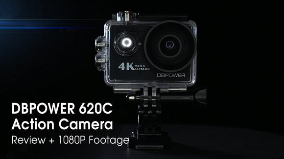 DBPOWER 620C 4k Action Camera